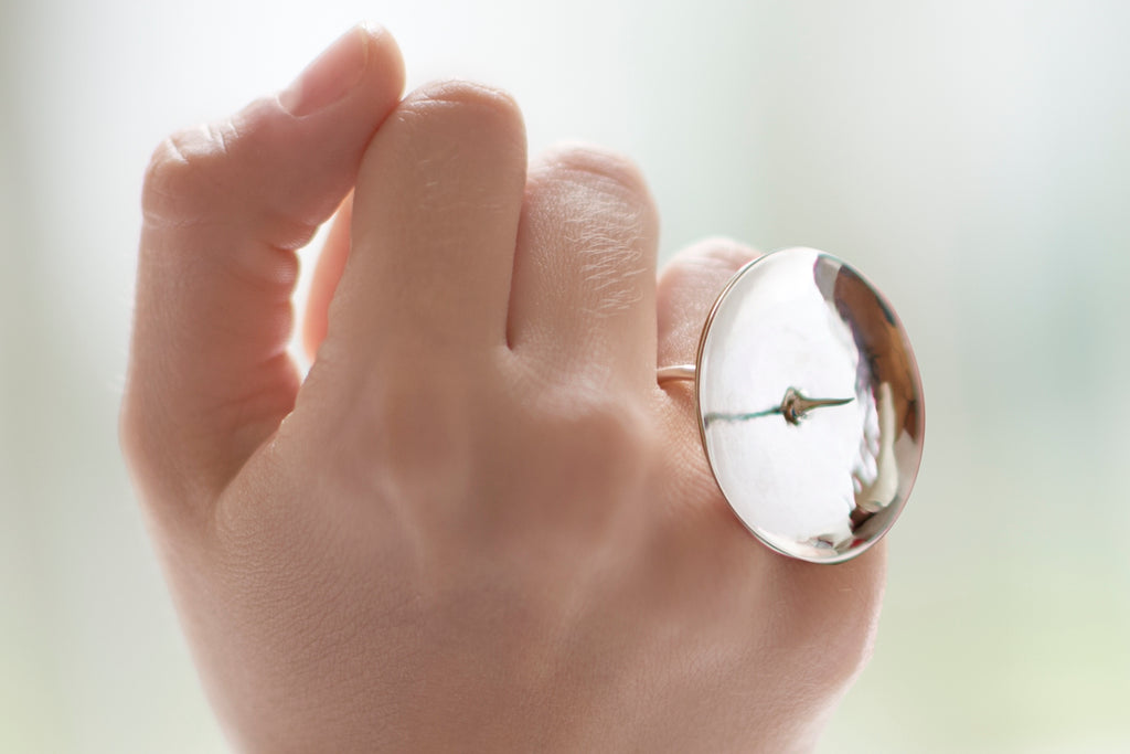 PROMETEO, Ring by Nadia Di Blasio