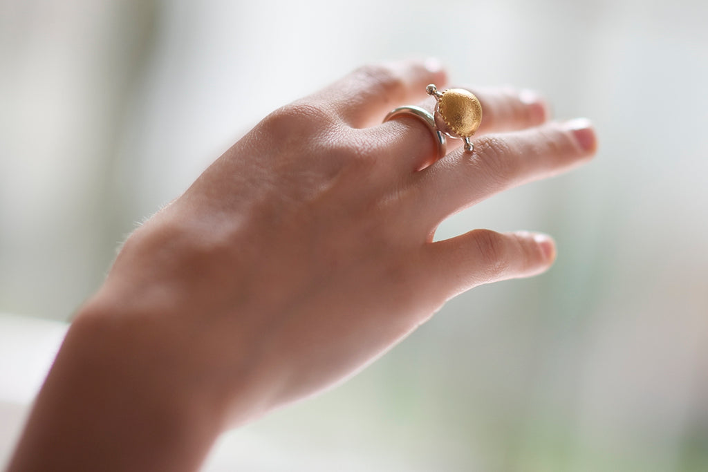 TOUPIE, Ring by Isabella Lovero
