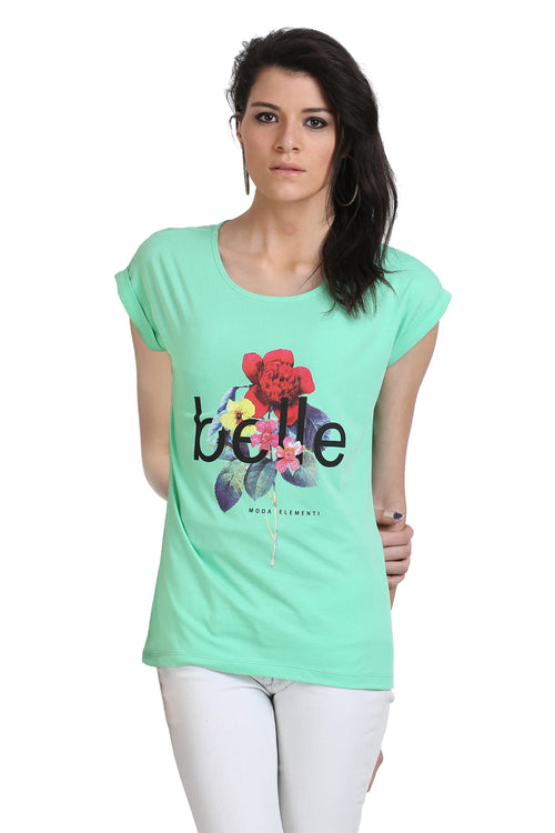 My Basic Printed T-Shirt - MODA ELEMENTI