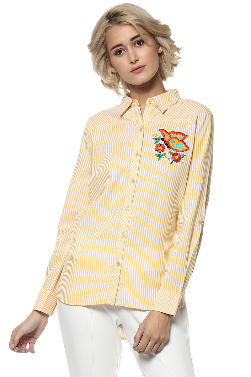 Patch Flurry Casual Shirt - MODA ELEMENTI