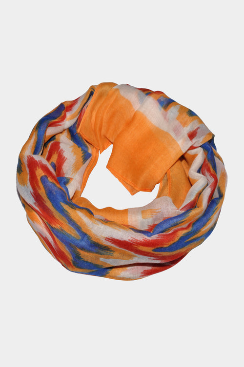 Multicolored Printed Scarf - MODA ELEMENTI