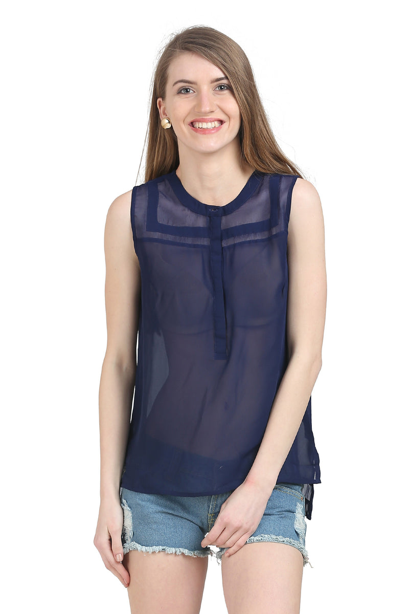 High Detail Designer Top - MODA ELEMENTI