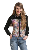 Night Floral Casual Shirt - MODA ELEMENTI