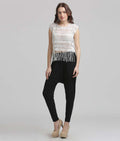 Boho Lace Tribal Crop Top - MODA ELEMENTI