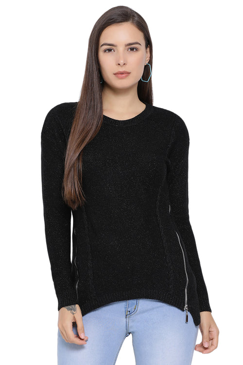 Black Night Shimmery Jumper