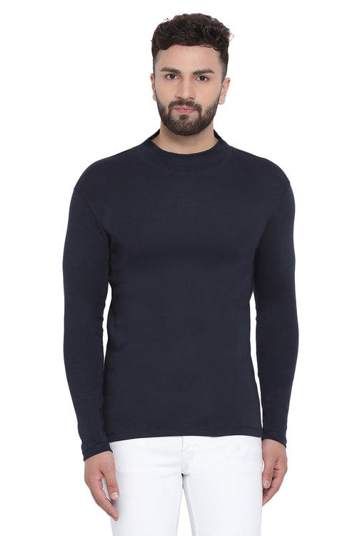 Axmann Solid Fitted Pre-Winter Pullover