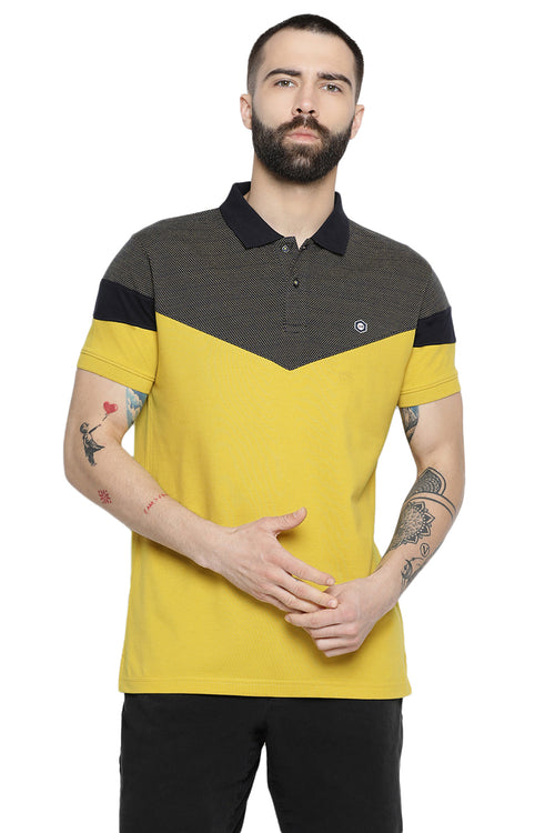 Axmann Solid Designed Polo T-Shirt