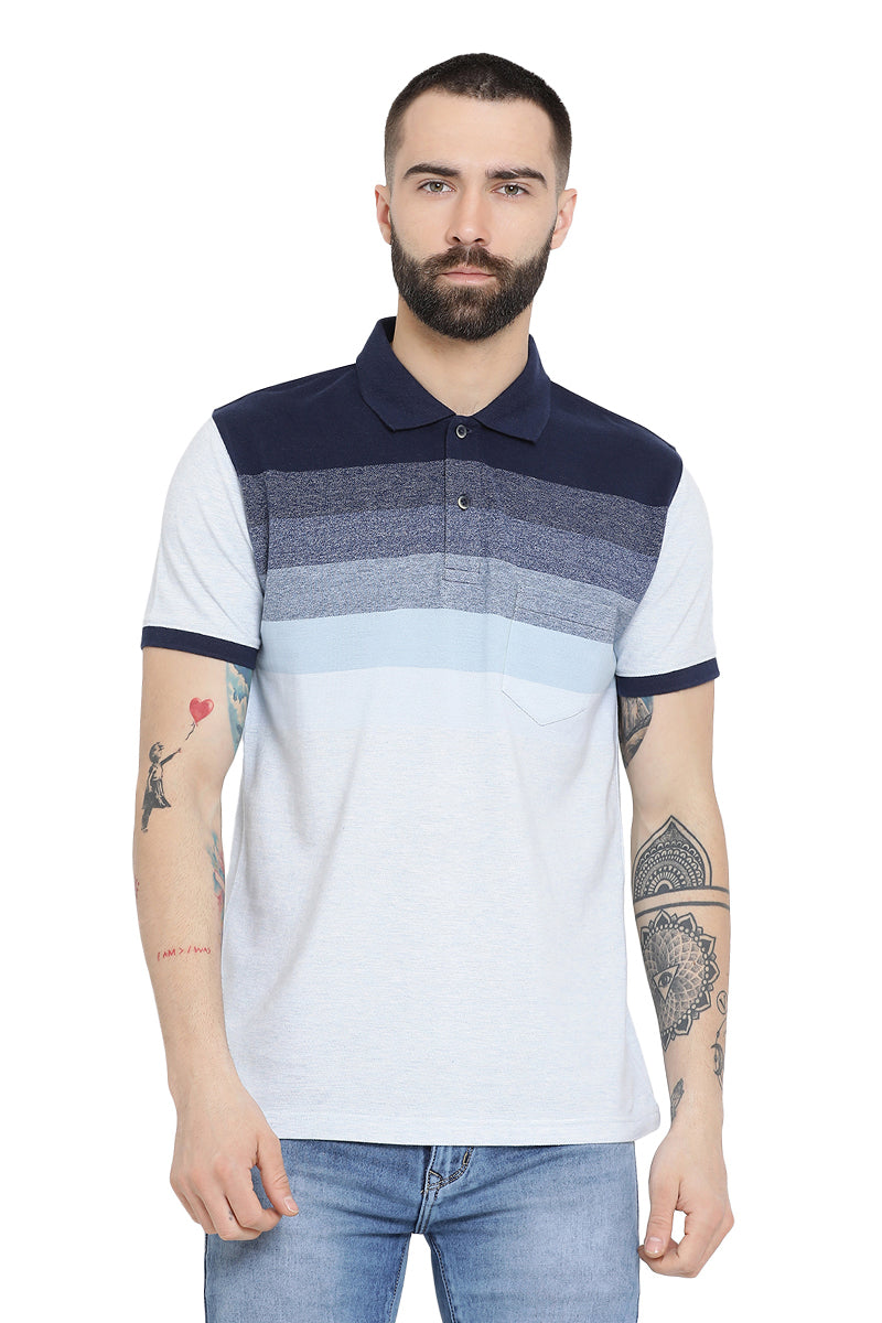 Axmann Color Blocked Polo T-Shirt