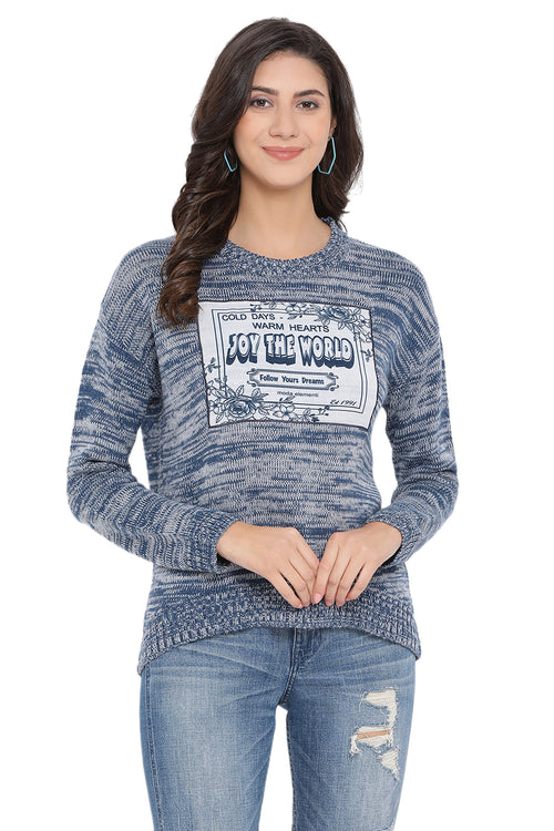 World Of Joy Casual Jumper