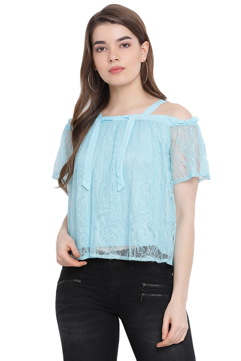 Lace Love Off Shoulder Top