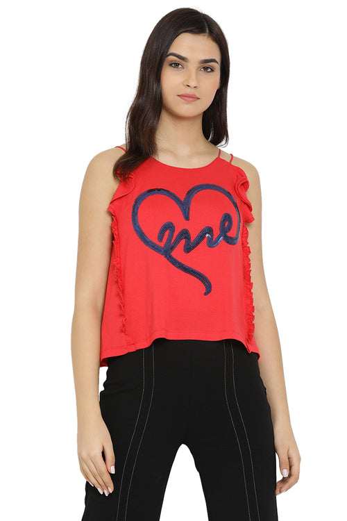 ME Shoulder Strap Top