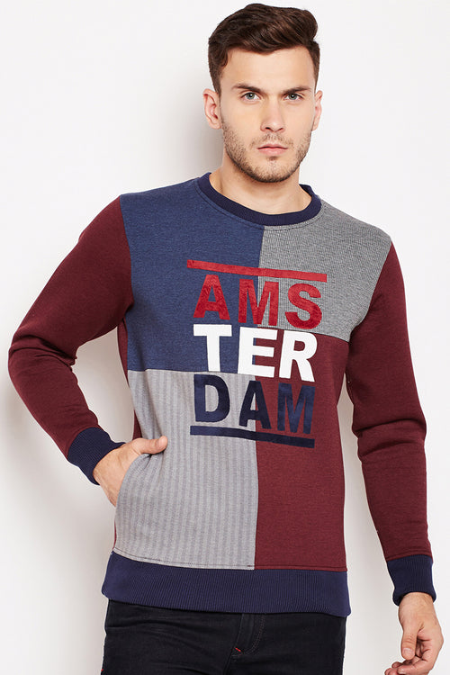 Amsterdam Color Block Sweatshirt - MODA ELEMENTI