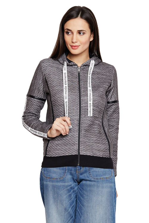 Active Elementi Zipper Hood Sweatshirt