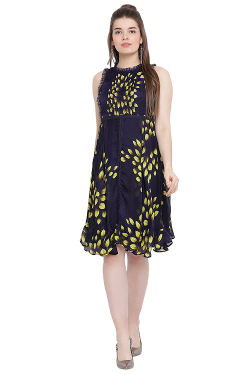 Glory Leaf Midi Dress