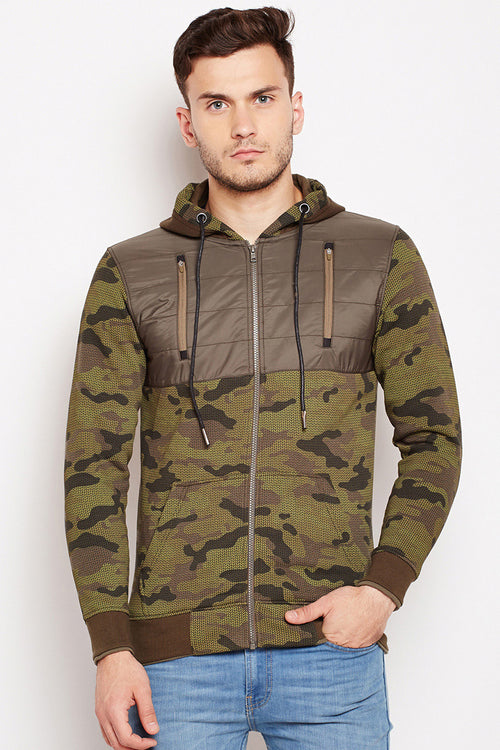 Axmann Military Zipper Hood Sweatshirt