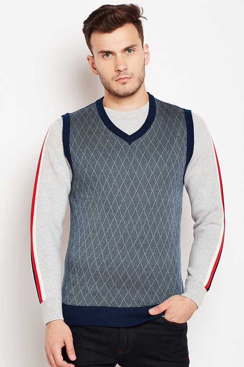 Axmann Self Designed V Neck Sweater - MODA ELEMENTI
