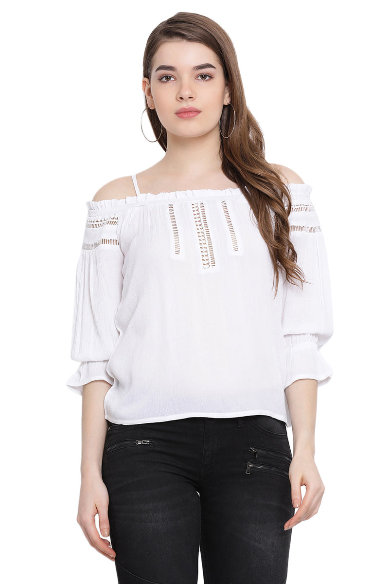 Breeze Vibe Off Shoulder Top