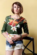 Floral Wild Winter Top - MODA ELEMENTI