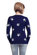 Galaxy Star Crew Neck Jumper - MODA ELEMENTI