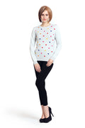 Color Splash Polka Jumper - MODA ELEMENTI