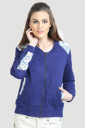 Reversible Front Open Full Sleeve Sweatshirt - MODA ELEMENTI