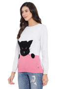 Black Cat Casual Jumper