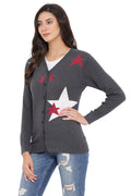 Night Star Casual Cardigan
