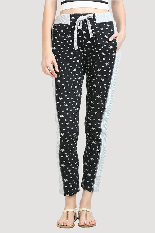 Night Star Printed Lower - MODA ELEMENTI