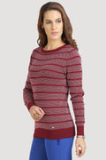 Full Sleeves Striped Jumper - MODA ELEMENTI
