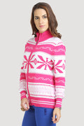 Front Zipper Full Sleeve Cardigan - MODA ELEMENTI