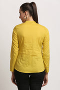 Pin Tuck Pleated Solid Tunic - MODA ELEMENTI
