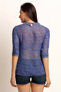 Urban Solid Casual Top - MODA ELEMENTI