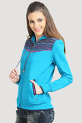 Front Zipper Hooded Sweatshirt - MODA ELEMENTI