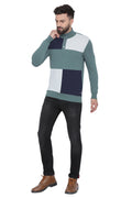 Axmann Color Blocked Pre-Winter Pullover