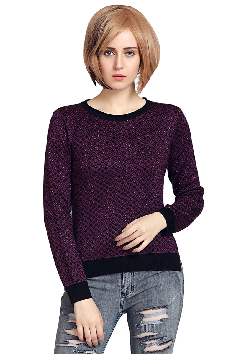 Self Designed Round Neck Jumper