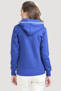 Plain Full Sleeve Hooded Sweatshirt - MODA ELEMENTI