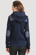 Full Sleeve Front Zipper Hooded Sweatshirt - MODA ELEMENTI