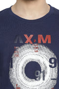 Axmann Matrix Casual Printed T-Shirt