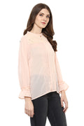 Peach Kiss Casual Top - MODA ELEMENTI