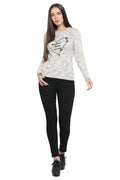 Flower Blossom Casual Jumper