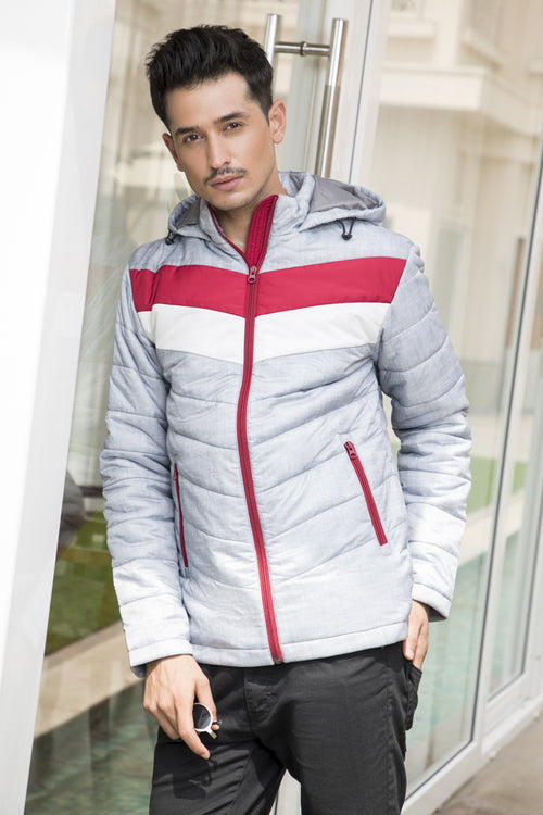 Axmann Quilted Hoody Jacket