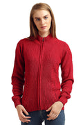 Full Sleeve Zipper Cardigan - MODA ELEMENTI
