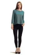 Solid Full Sleeve Majestic Top - MODA ELEMENTI