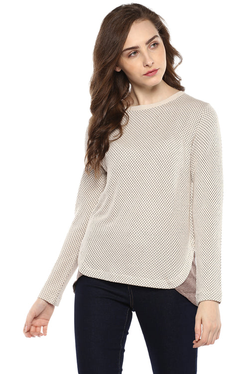 Knitted Full Sleeve Designer Jumper