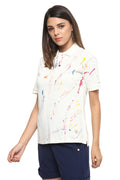 Snow White Polo T-Shirt - MODA ELEMENTI