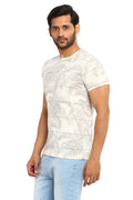 AXMANN Casual T-Shirt Combo Pack (Off White | Coffee Melange) - MODA ELEMENTI