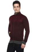 Axmann Full Sleeve Zipper Collar Sweatshirt