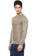 Axmann Solid Self Designed Pullover