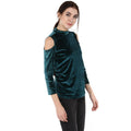 Cold Shoulder Designer Winter Top - MODA ELEMENTI