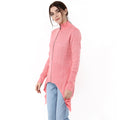 Full Sleeve Zipper Long Cardigan - MODA ELEMENTI